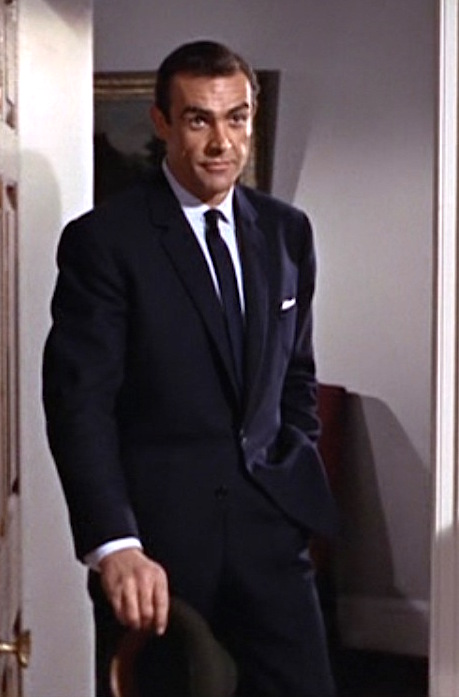 From Russia With Love Bond S Dark Navy Office Suit Bamf Style