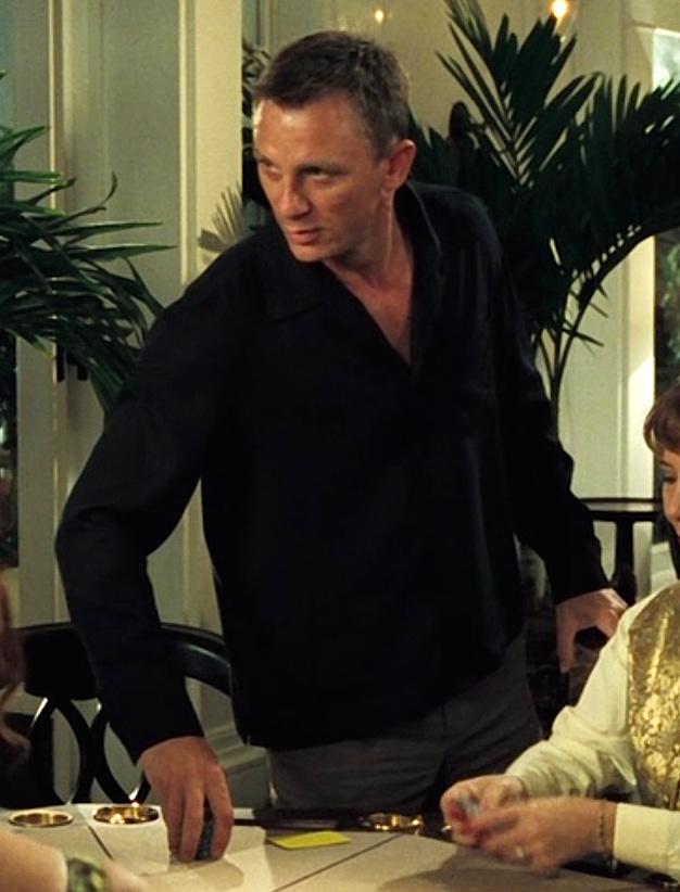 Bond casino clothing game o meter arma 2