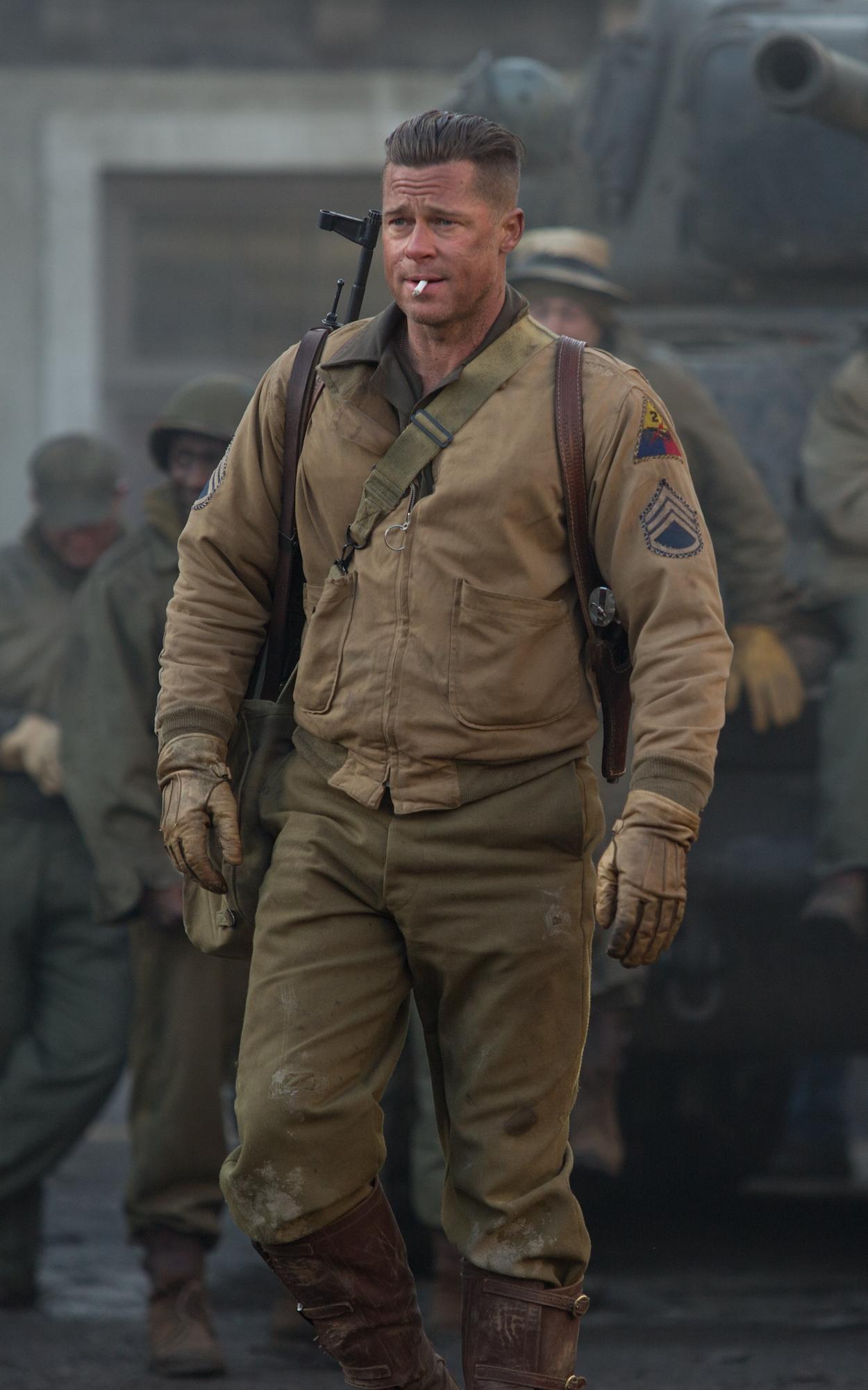 Fury - Brad Pitt as